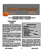 2018 Oct Newsletter